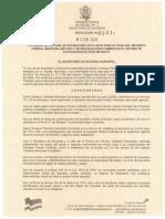 Resolución PREDIAL  No. 0001-2.1.2019