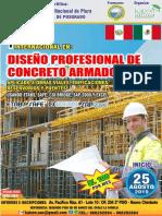 Brochure Diplomado Concreto Armado