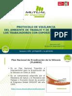 Presentación Protocolo Vigilancia de Sílice V3 Nov 2015