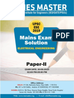 Electrical Enginnering Paper II