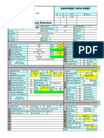11 d Equipment Data Sheet