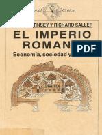 Peter Garnsey, Richard Saller - El Imperio Romano. Economía, Sociedad y Cultura -Convertido