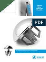 Zimmer Sidus Stem Free Shoulder Brochure