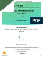 Crie Landing Pages de Alta Conversão Para Seu Site _ Klickpages