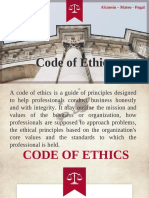 ChE Code of Ethics