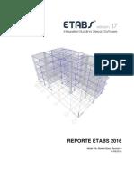 Reporte ETABS EDIFICIO