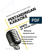 Karoke Contest