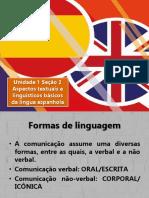 Unidade 1 Aula 2_Aspectos Textuais e Linguísticos Básicos Da