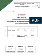 PETS PROM PRO DM 002 Demontaje y Montaje de Cobertura Metalica