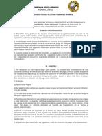 Reglamento Técnico de Fútbol Varones y Mujeres