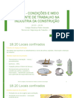 NR 18 - Condições e Meio Ambiente - 18.20 - 18.24