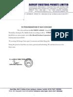 aarkey erectors certificate format