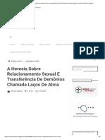 A heresia sobre relacionamento sexual e transferência de demônios chamada laços de alma _ Renato Vargens.pdf