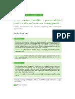 Preservación familiar y parentalidad positiva