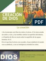 La Creaciòn de Dios (1)