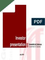 Investor Presentation Jul2019 Generalitat