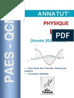 Annatut%27 UE3a Physique 2012 2013