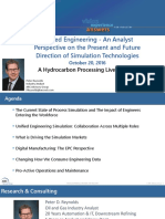 Unified Engineering - An Analyst Perspective on the Present and Future Direction of Simulation Technologies 20Oct2016