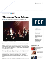 The Rape of Pepsi Paloma
