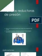 Válvulas Reductoras de Presión