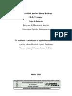 La Accion de Repeticion Ecuador 10