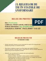 Studiul releelor de protecţie în staţiile de transformare.pptx