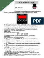 Termometru Termostat AD-025V13C