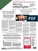 Le Monde Diplomatique - 02 2019
