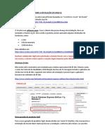 Instalação de banco de dados Oracle