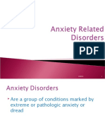 Anxiety Related Disorders
