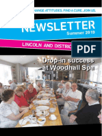 Parkinson's Lincoln News for Summer 2019