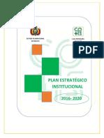 Plan Estrategico Institucional en PDF Cps