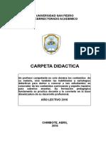 CARPETA DIDACTICA Y PEDAGOGICA - USP - 2016 - I.docx