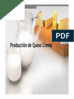 Produccion  de Queso Crema