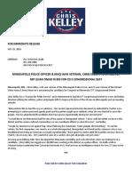 Chris Kelley Announces Run for Congress