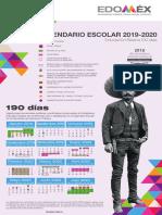 Calendario Escolar Edomex 2019-2020