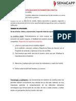 Modulo III.1 - Análitica Web