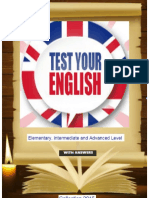 5Test Your English ( With Answers )
