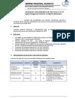 Bases de Contratacion CAS - 05 Año 2019