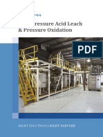 High Pressure Acid Leach HPAL and Pressure Oxidation POX