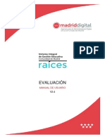 Manual de usuario RAICES
