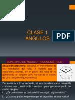 Concepto de Angulo Trigonom