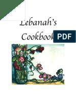 Lebanahs Cookbook