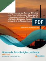 NDU 003 - Fornecimento de Energia Elétrica em Tensão Primária e Secundária a Multiplas Unidades Acima de 3 Unidades.pdf
