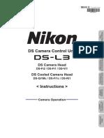 DS-L3 Camera Operation Manual