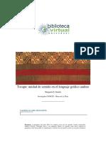 Tocapu, Unidad de Sentido en El Lenguaje Grafico Andino