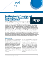 Best Practices for RFPs