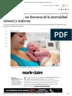 Salud Anunció Un Descenso de La Mortalidad Infantil y Materna _ Perfil