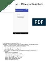 Apresentação - StartActivityForResult