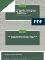 Ética en Investigación en Colombia